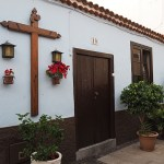 Traditionellt hus. Puerto de la Cruz