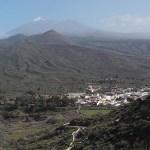 Vy över Santiago del Teide