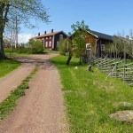 Gammal by. Svinö