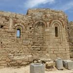 Bysantinsk kyrka i riddarborgen. Lindos