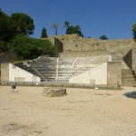 Den antika teatern, 200-talet f Kr. Monte Smith. Rhodos stad