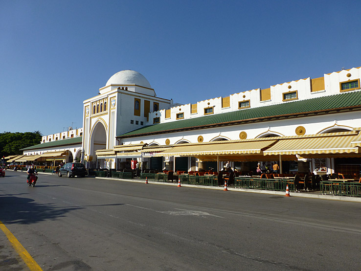 Nya marknaden. Rhodos stad