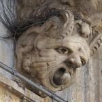 Balkongdekoration. Palazzolo Acreide