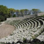 Grekiska teatern. Palazzolo Acreide