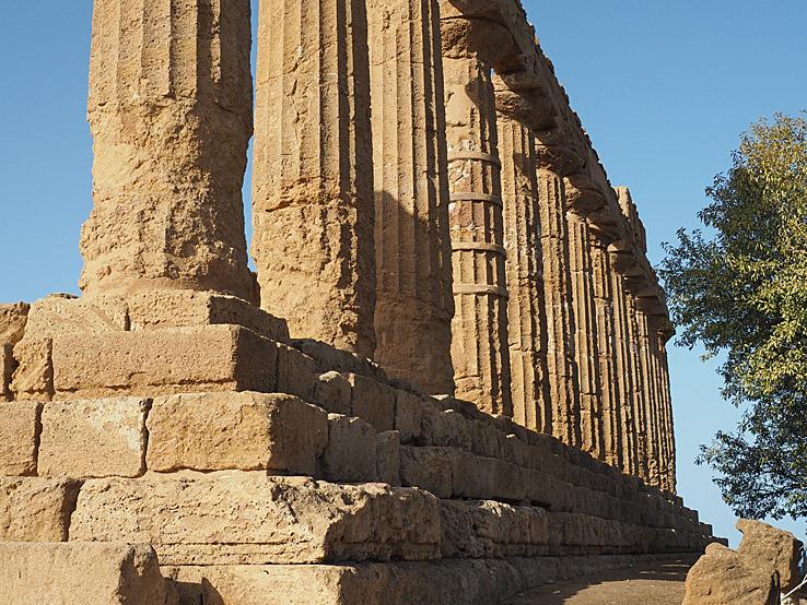 Heras tempel. Valley of Temples. Agrigento (U)