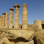 Ercole templet. Valley of Temples. Agrigento (U)