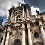 Duomo, katedralen, med Atenatemplet. Siracusa (U)