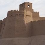 Stadsmuren. Khiva