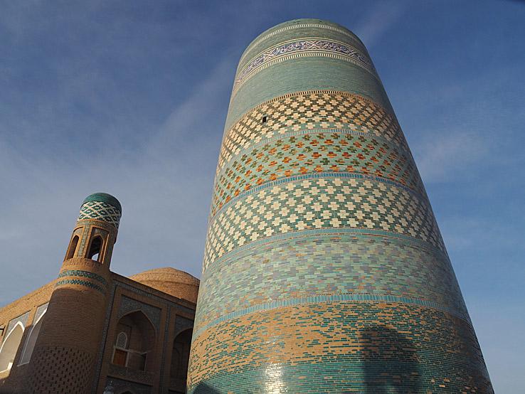 Kalta Minor, Den korta minareten. Khiva (U)