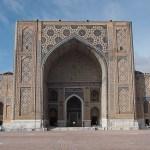 Ulugbek madrasa. Registantorget. Samarkand (U)
