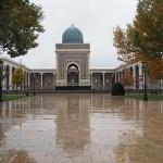 Imam Al-Bukhari minnesmonument. Samarkand (U)