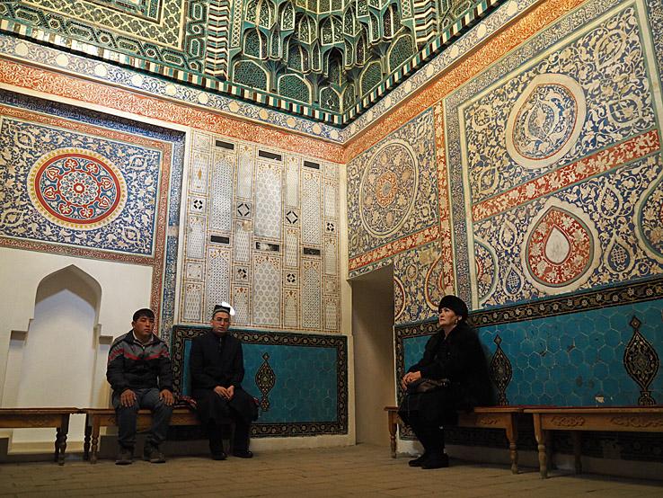 Kusam Ibn Abbas mausoleum. (Mohmmeds kusin). Samarkand (U)