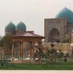 Dor As-Siadat mausoleum. Shakhrisabz (U)