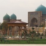 Dor As-Siadat mausoleum. Shakhrisabz (U)