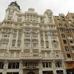 Paradgatan Gran Via. Madrid