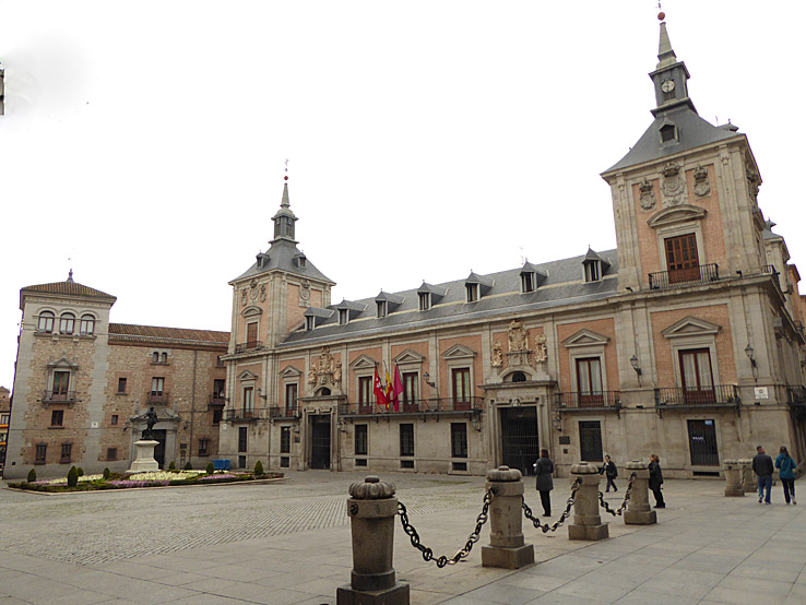 Plaza de La Villa. Madrid