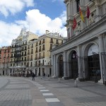 Plaza de Oriente. Madrid