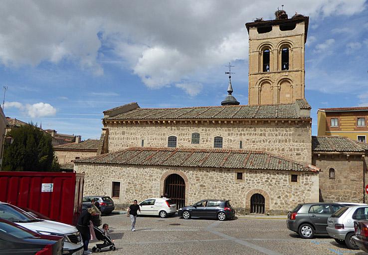 Iglesia de los Santos Justo y Pastor. Segovia (U)