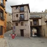 Juderia, den fd judiska stadsdelen,. Segovia (U)