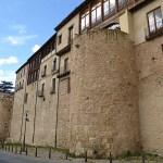 Del av stadsmuren. Segovia