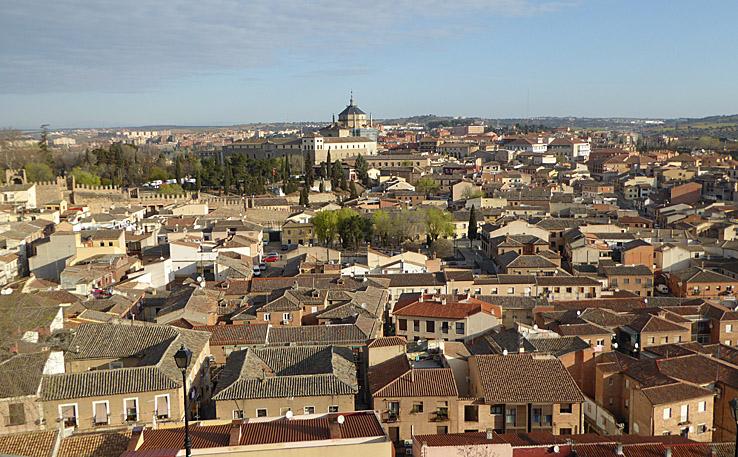 Vy över Toledo