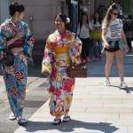 """""""Turister klär sig konstigt!"""" Kanazawa"""