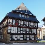 Korsvirkeshus. Goslar. Tyskland (U)