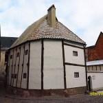 Äldsta korsvirkeshuset är från 1300-talet. Quedlinburg