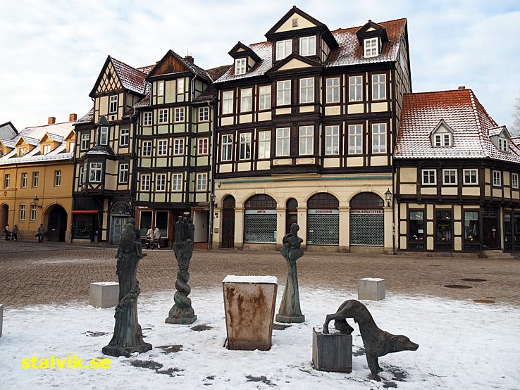 Marktstrasse. Quedlinburg
