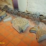 Delar av nazisternas riksörn. Schlossmuseum. Quedlinburg