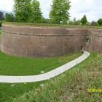 Del av stadsmuren. Lucca
