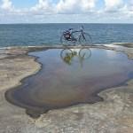 Cykla i Västergötland. Vid Vänersnäs