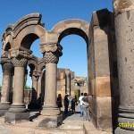 Zvartnotz templet. Etchmiadzin. Armenien (U)