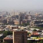 Vy över Jerevan