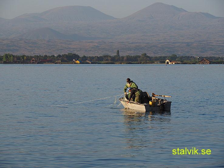 Morgon vid Sevansjön