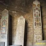 Begravningsplatsen Yeddi Gumbez. Shemaka