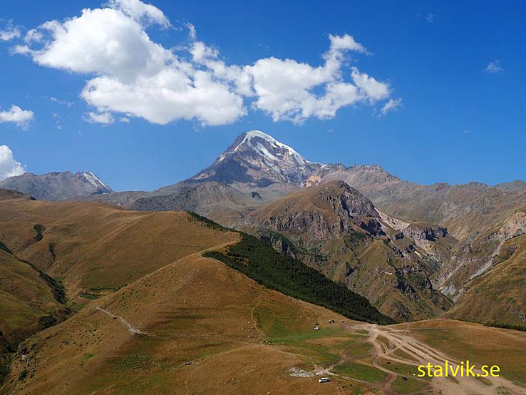 Berget Kazbegi, 5 033 möh