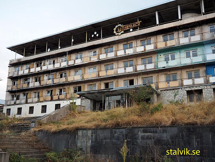 Det fd Sovjethotellet. Telavi