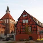 Tornvaktarhuset och Knieperturm. Stralsund (U)