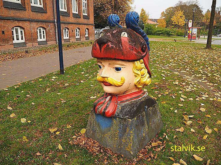 Svenskhuvud. Wismar