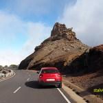 Vägen till Roque de los Muchachos