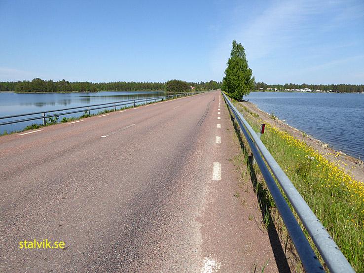 Siljansleden. Bro mellan Sollerön och Gesunda