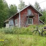 Cykling Ludvika kommun. Grangärde finnmark