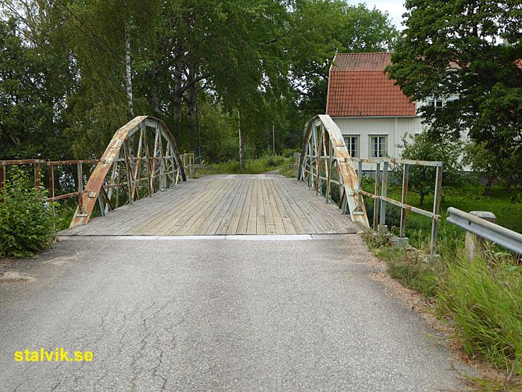 Cykla i Ludvika kommun. Väsman runt. Kaplanbron. Grangärde