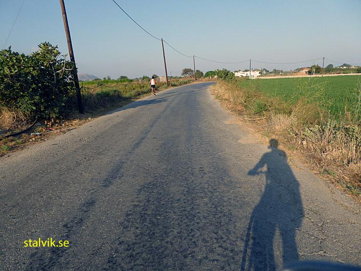 På vägen mot Mastihari