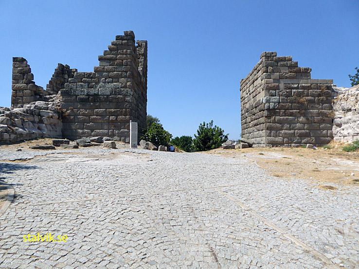 Myndos port. Bodrum