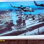 Foto från haveriet i reaktor 4. Tjernobyl