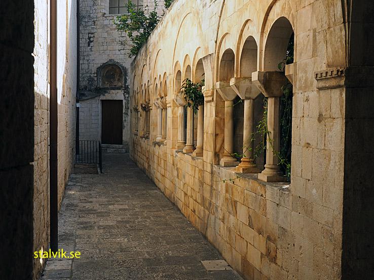 Klostret Monastero San Benedetto. Conversano