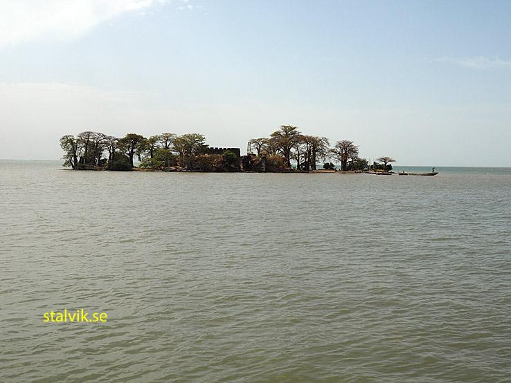 Slavön Kunta Kinteh Island, (James Island) (U)