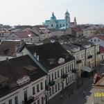Vy över Grodno